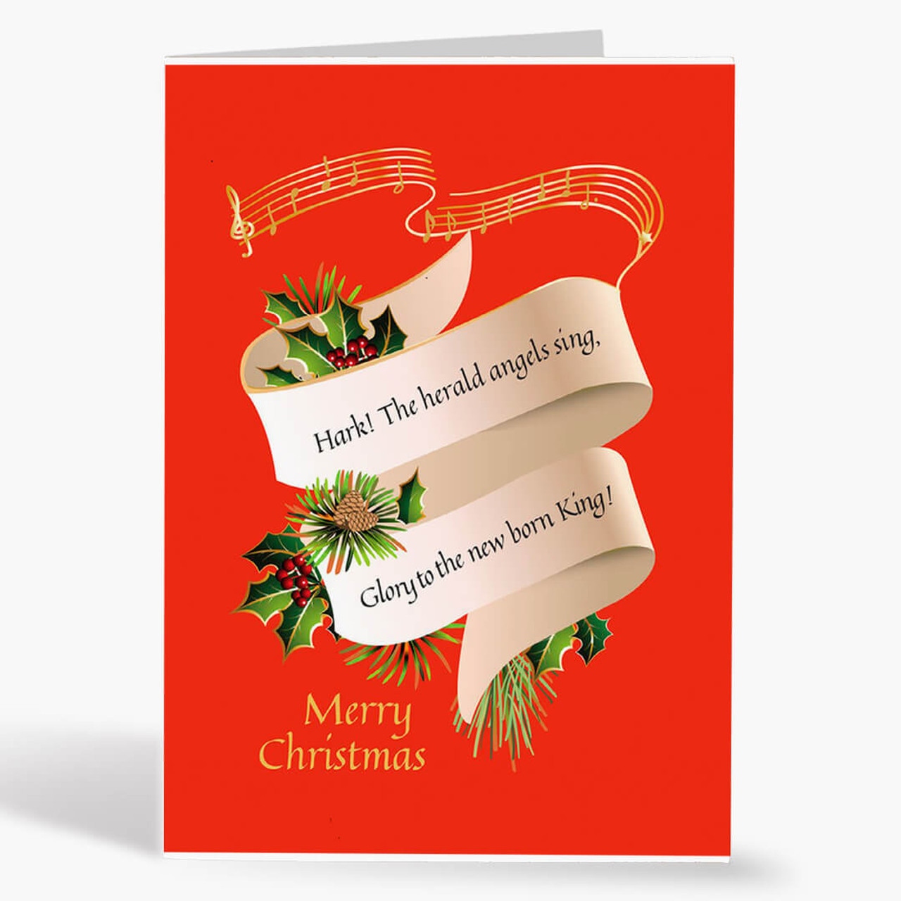 Newborn King Christmas Card