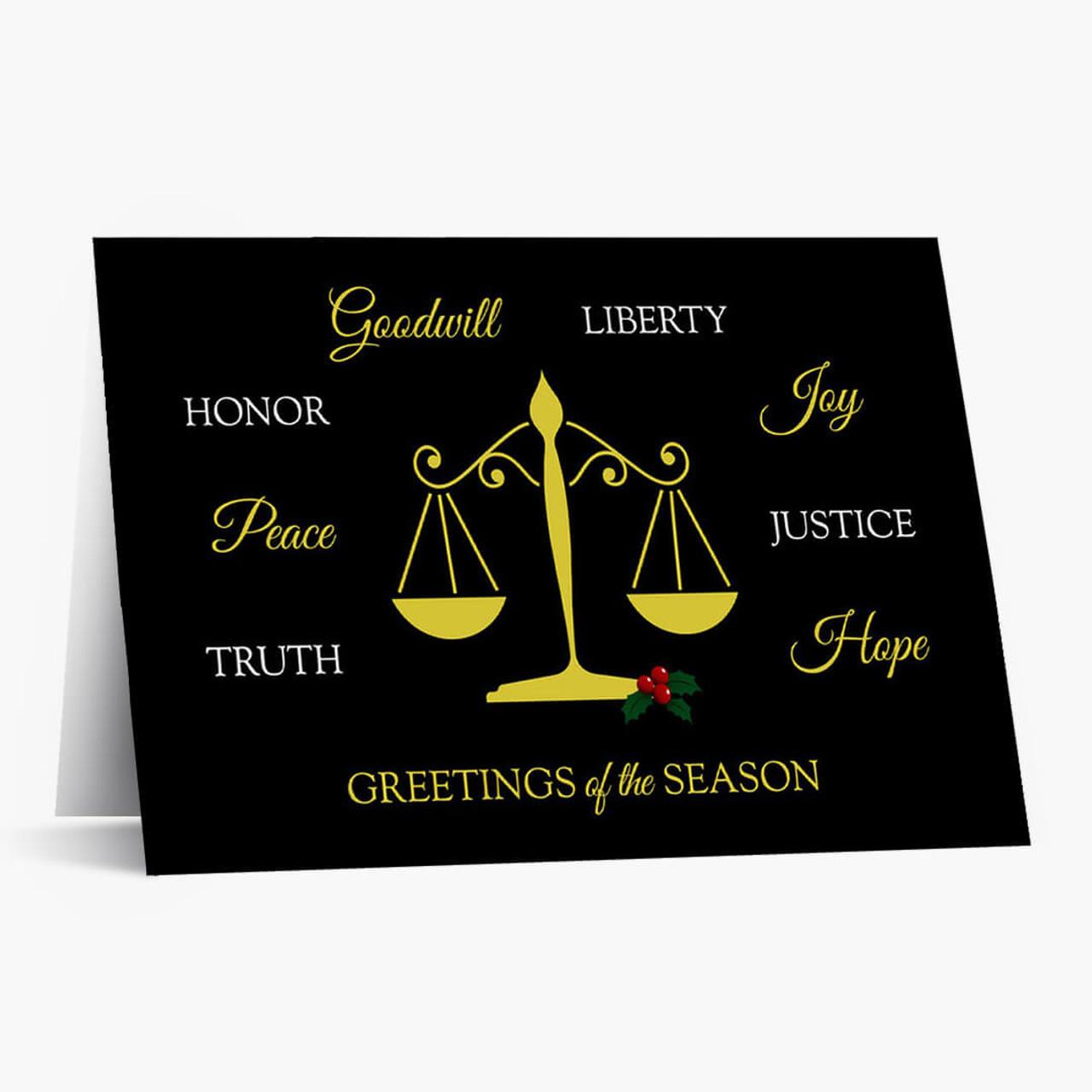 Legal Greetings Christmas Card