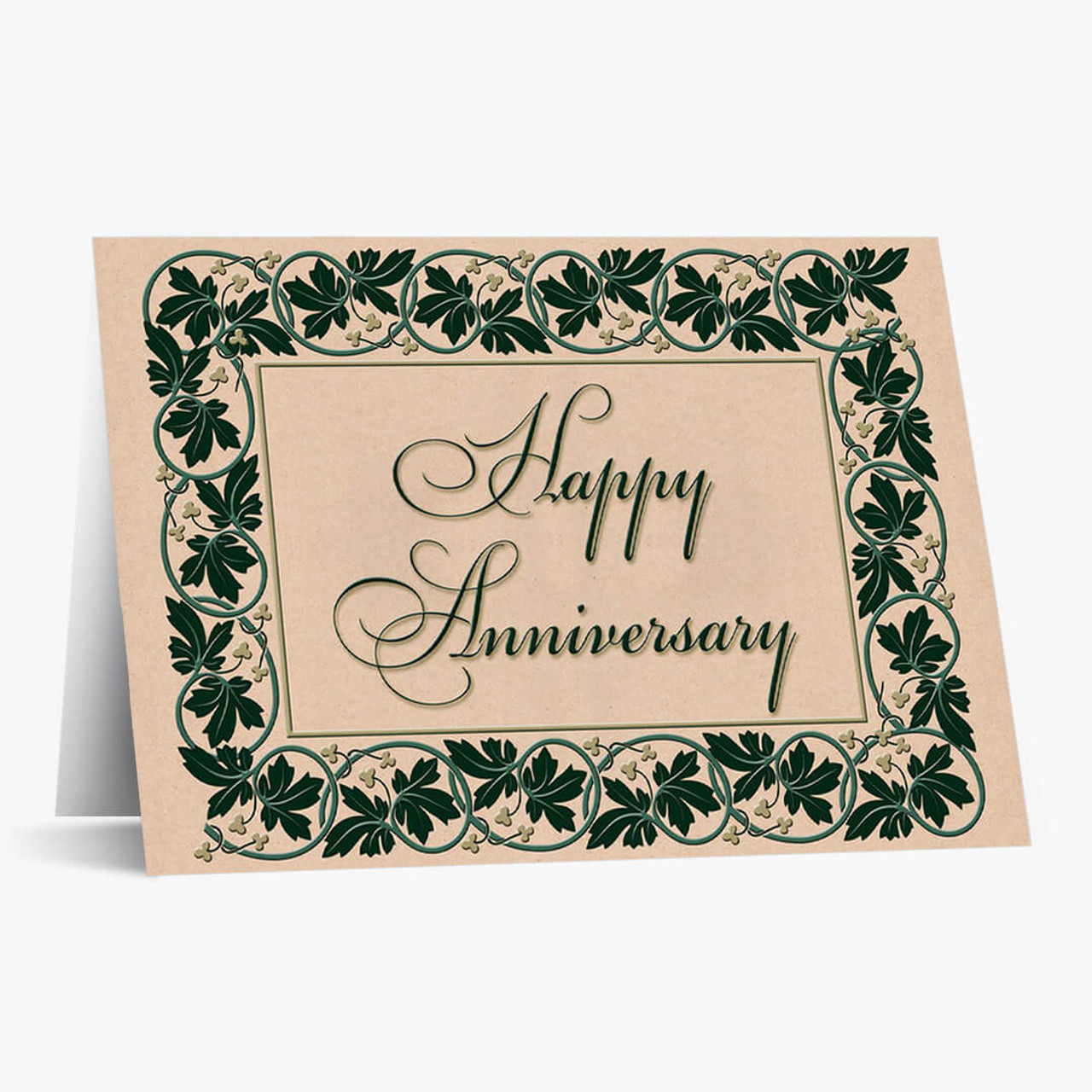 Anniversary Ivy Recycled Card