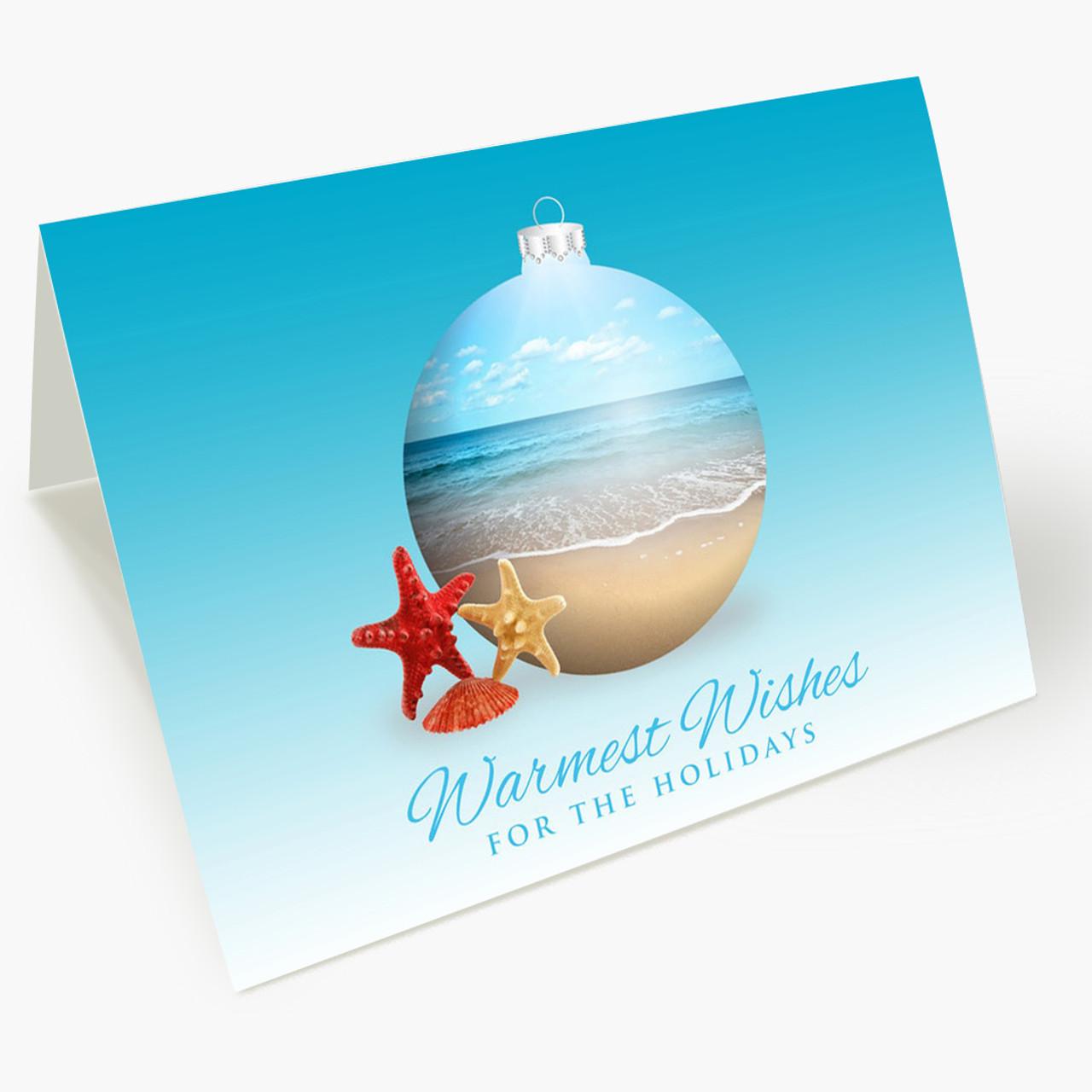 At The Shore Christmas Card