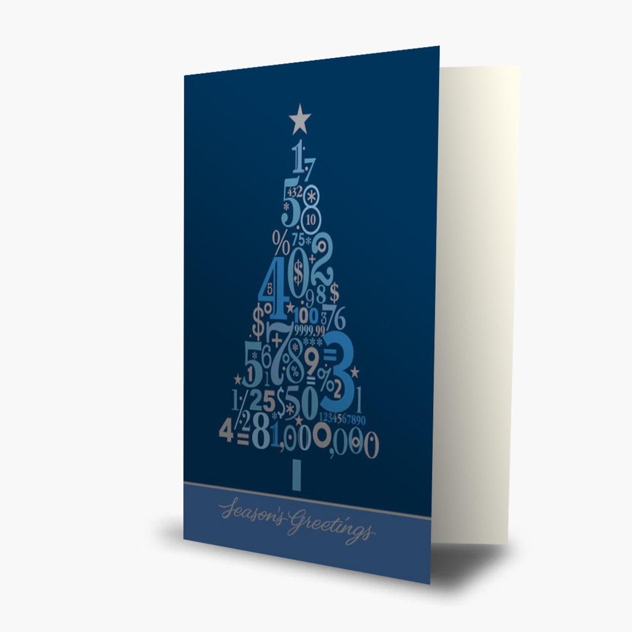 Accounting Tree Christmas Card