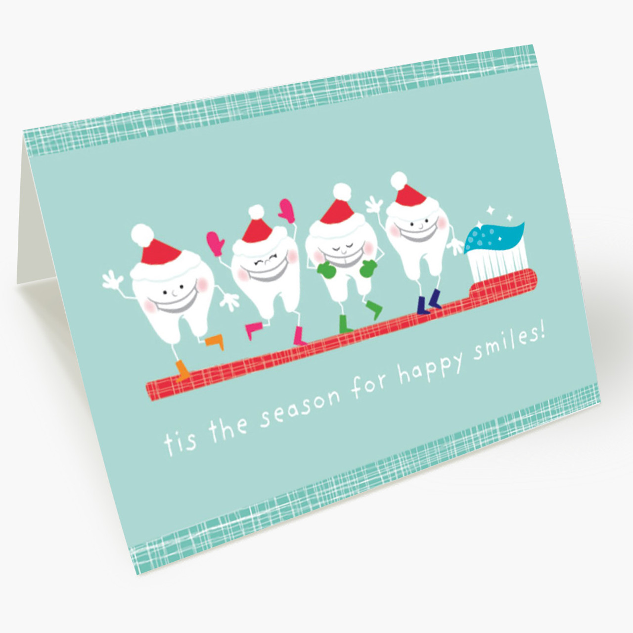 Happy Teeth Christmas Card