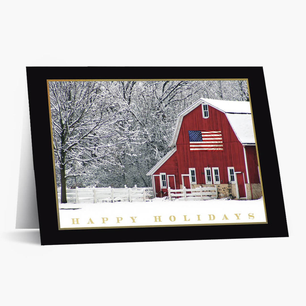 Holiday Barn Christmas Card