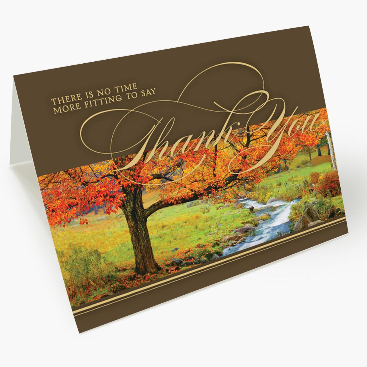 Thanksgiving Sentiment Card