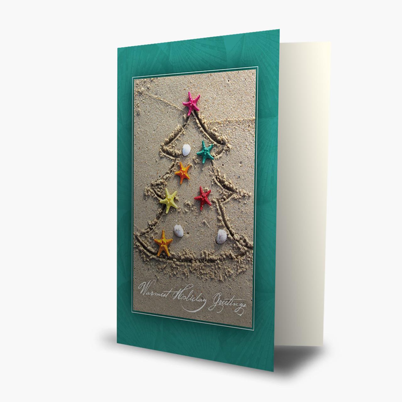 Tropical Christmas Tree Card
