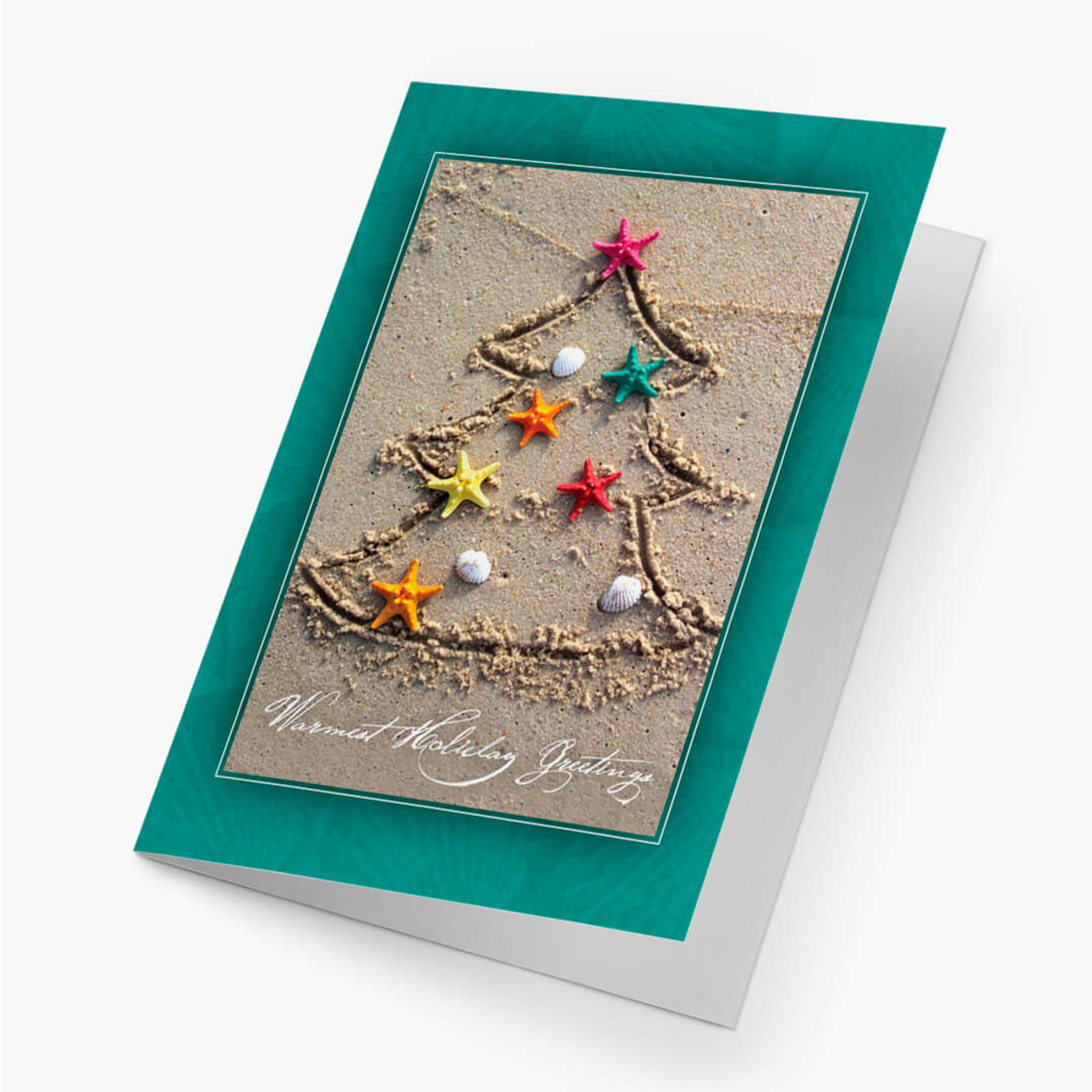Tropical Christmas Tree Card