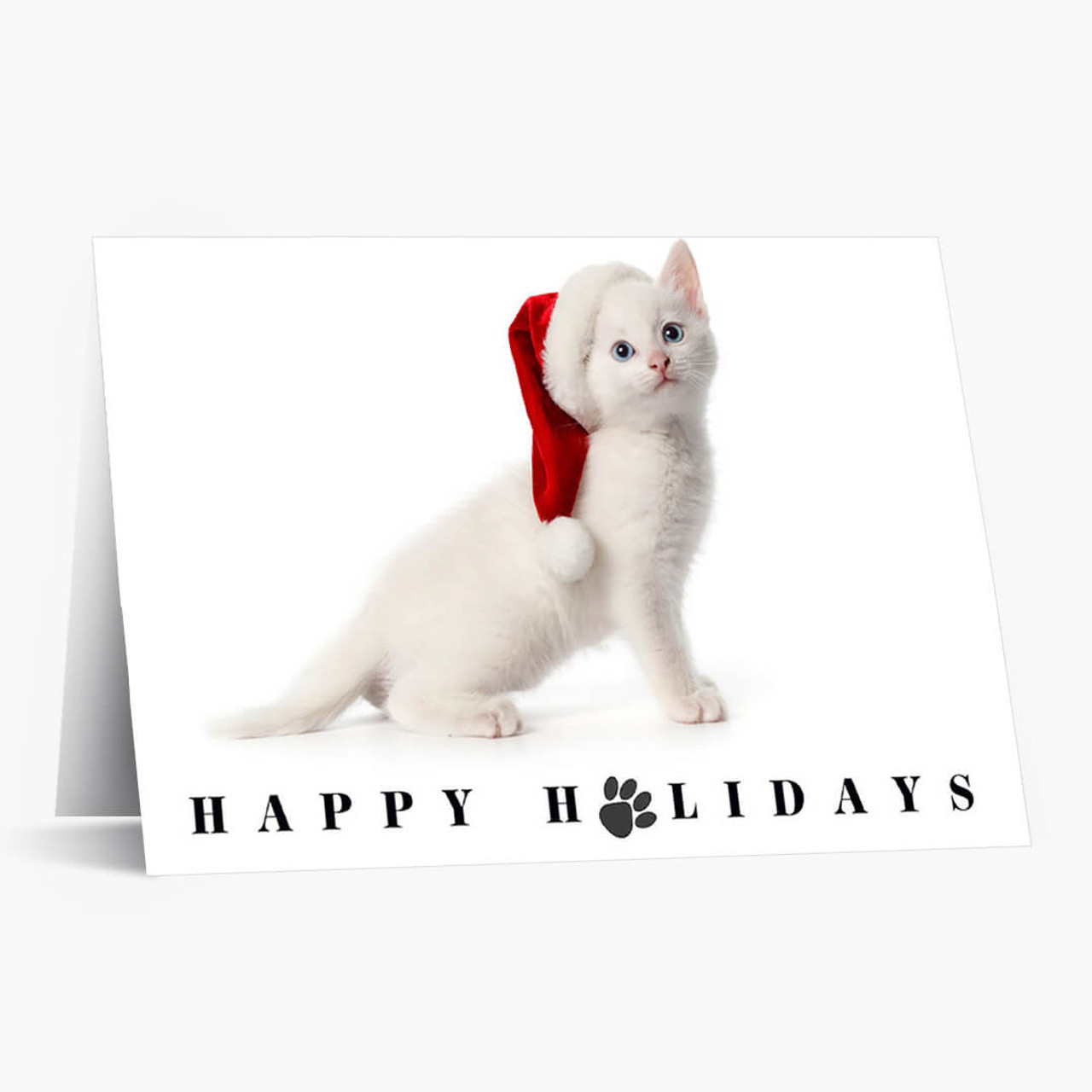 White As Snow Christmas Card