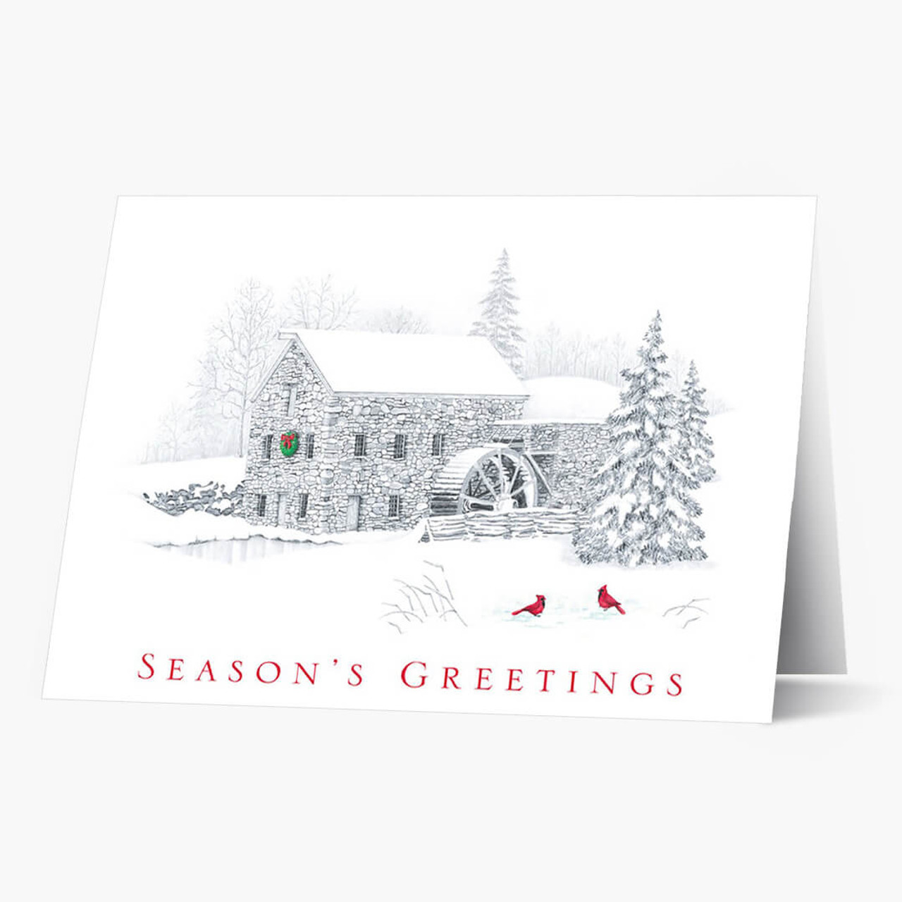 Gristmill Greetings Christmas Card