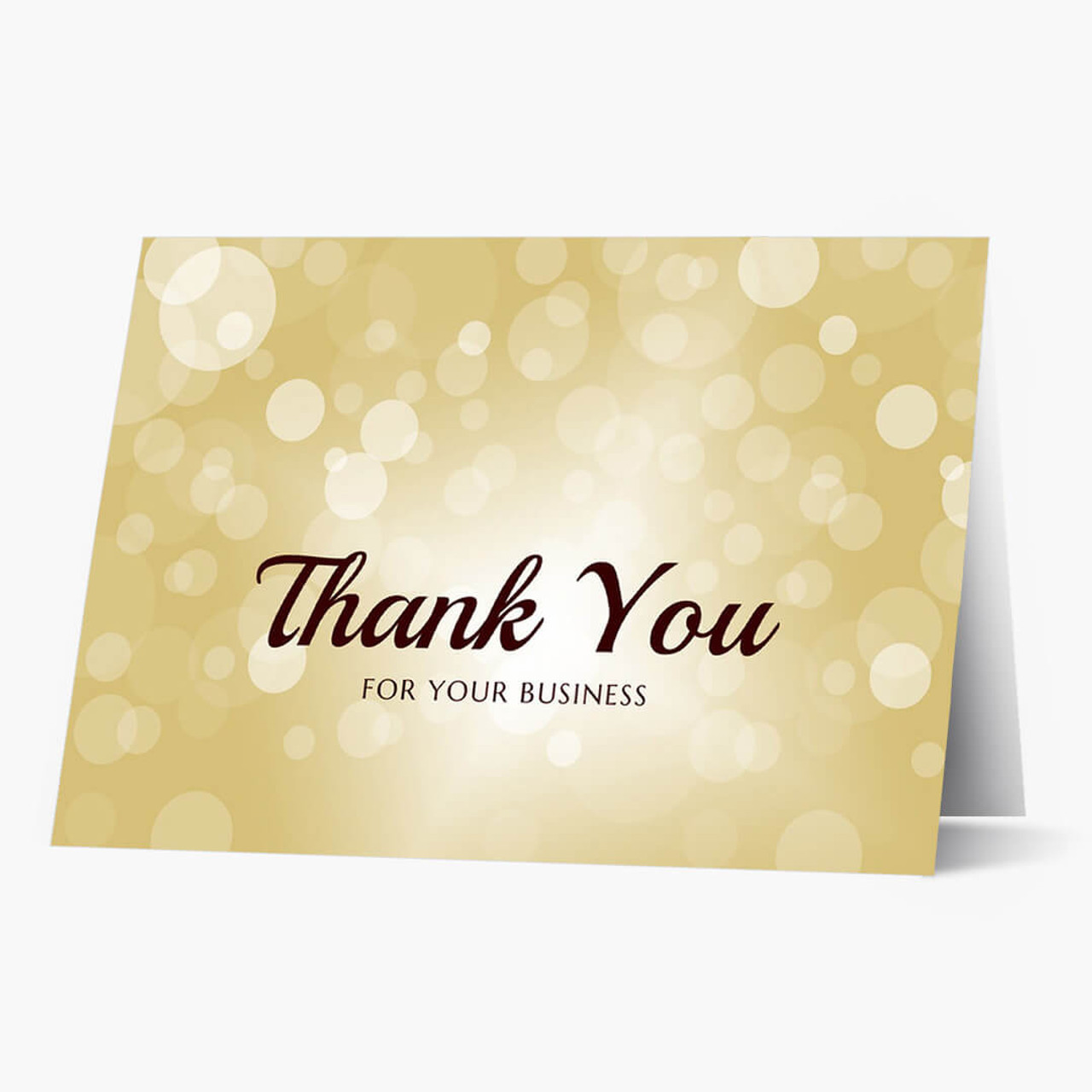 For Your Business Thank You Card