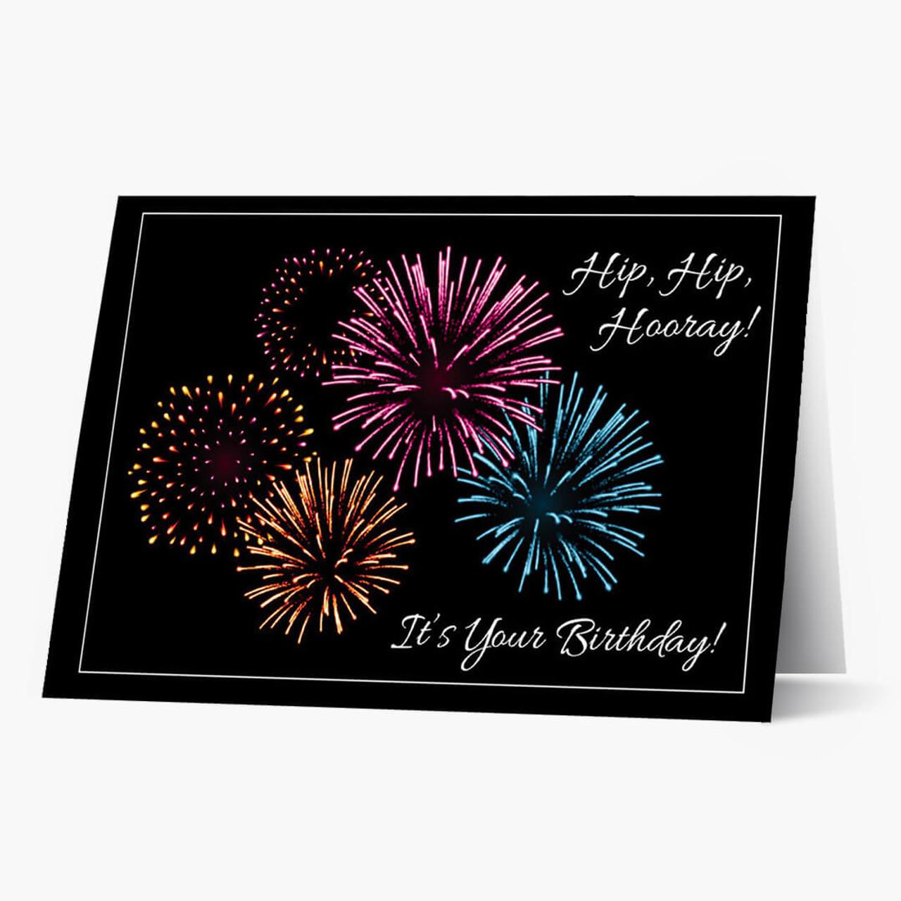 Birthday Hooray Card
