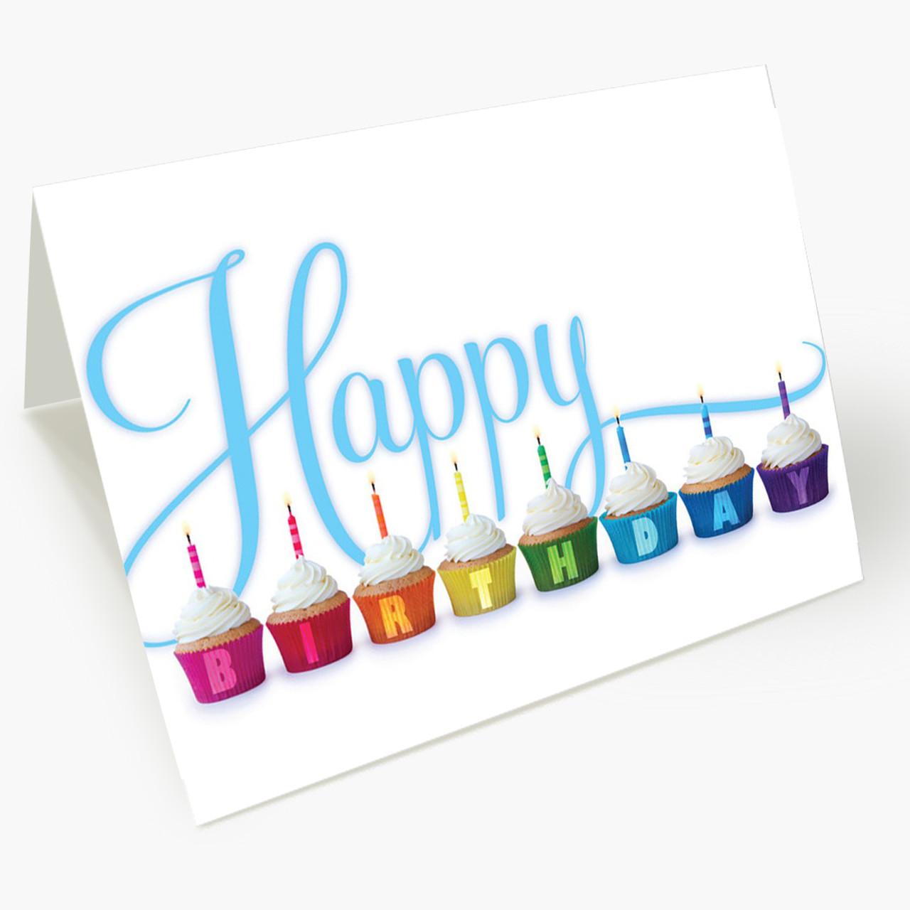 Birthday Cupcakes Card