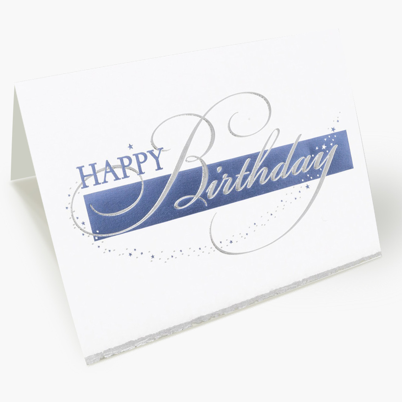 Star Treatment Birthday Card