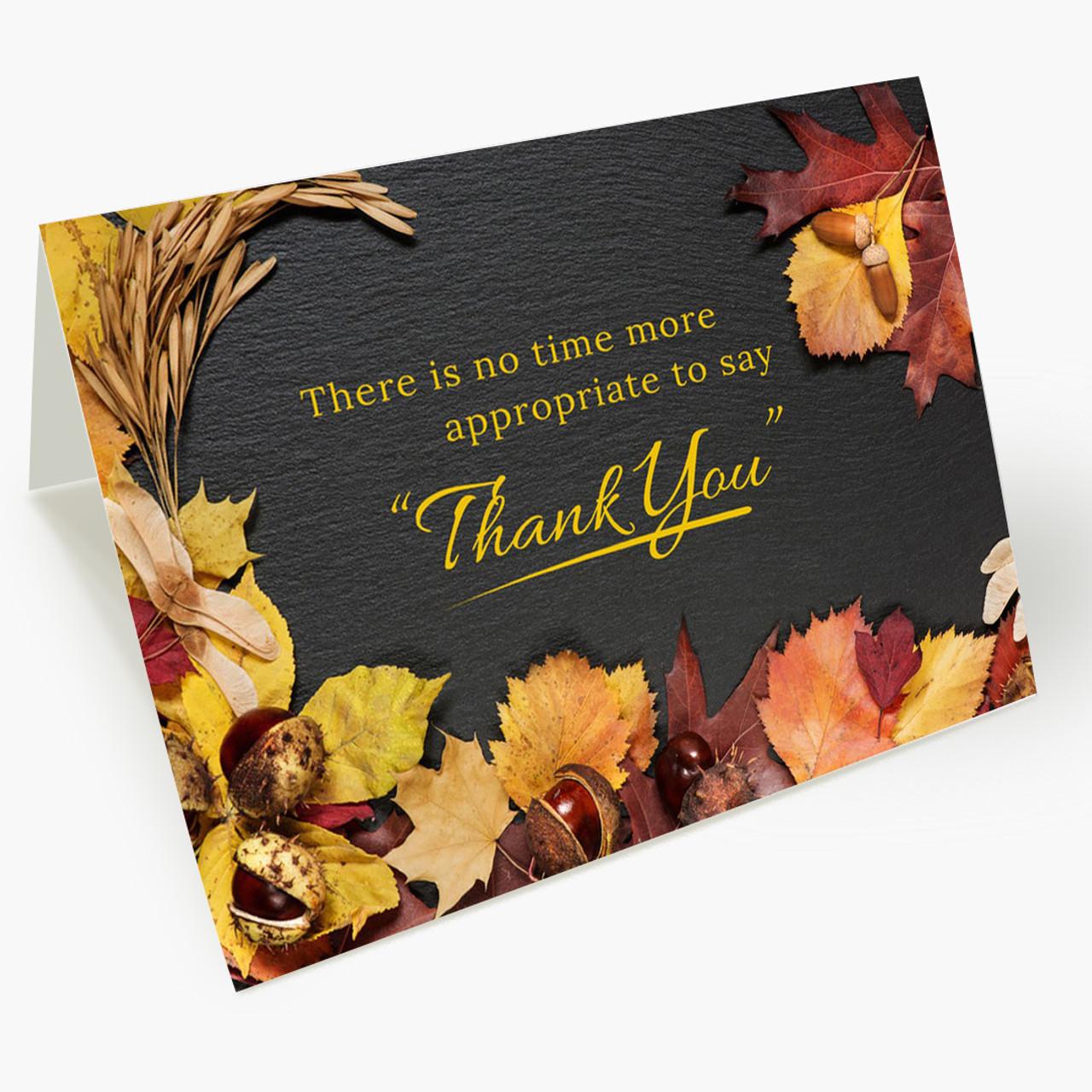 Season of Gratitude Thanksgiving Card