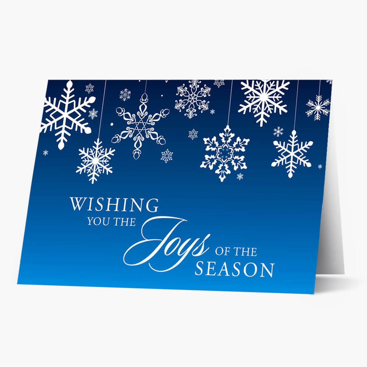 Joys of the Season Christmas Card