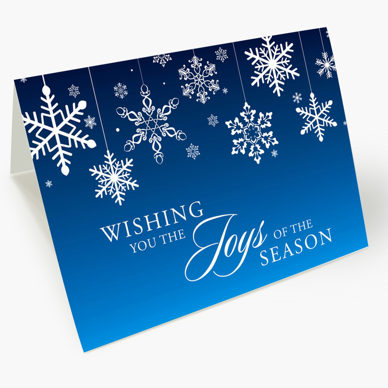 Joys of the Season Christmas Card