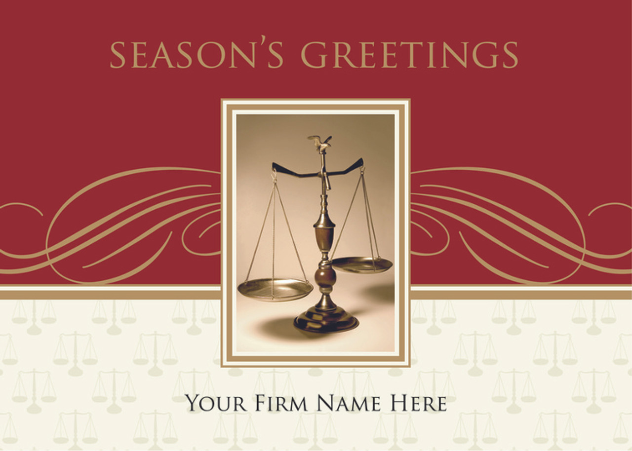 legal holiday cards  clear dedication law firm holiday cards