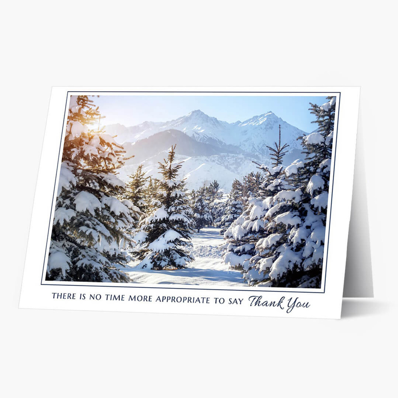 A Majestic Appreciation Christmas Card