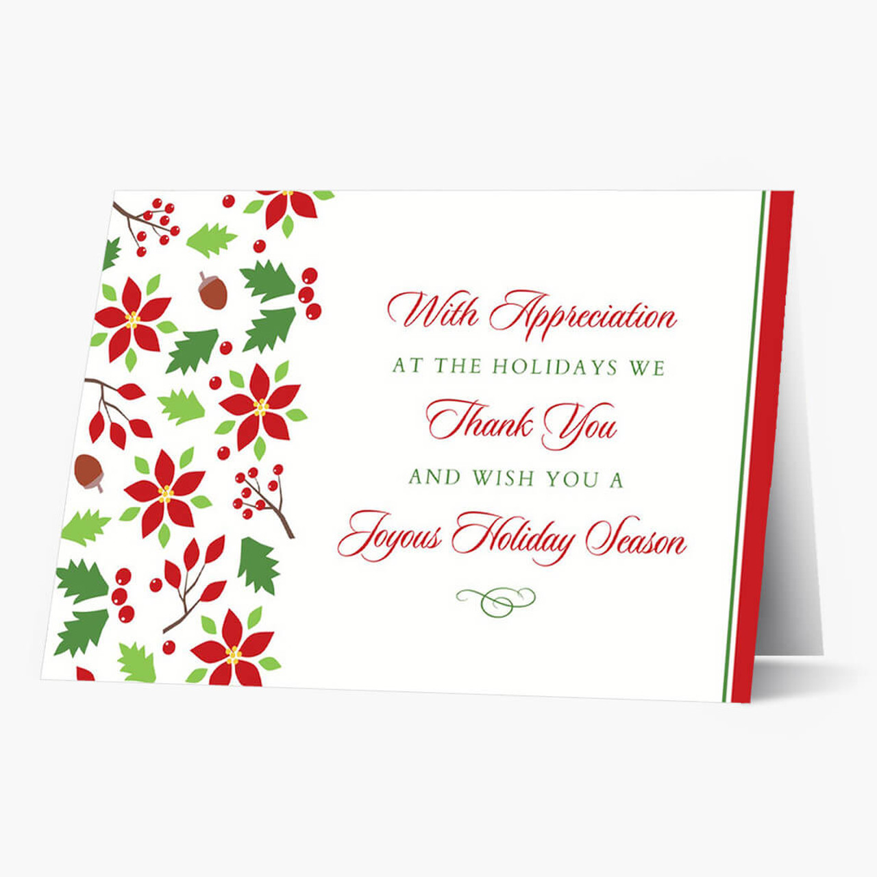 Sweet Appreciation Christmas Card