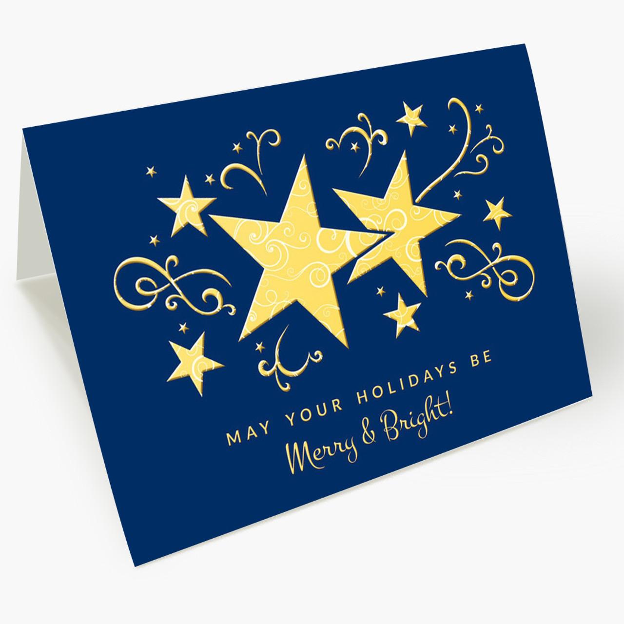 Star Bright Christmas Card