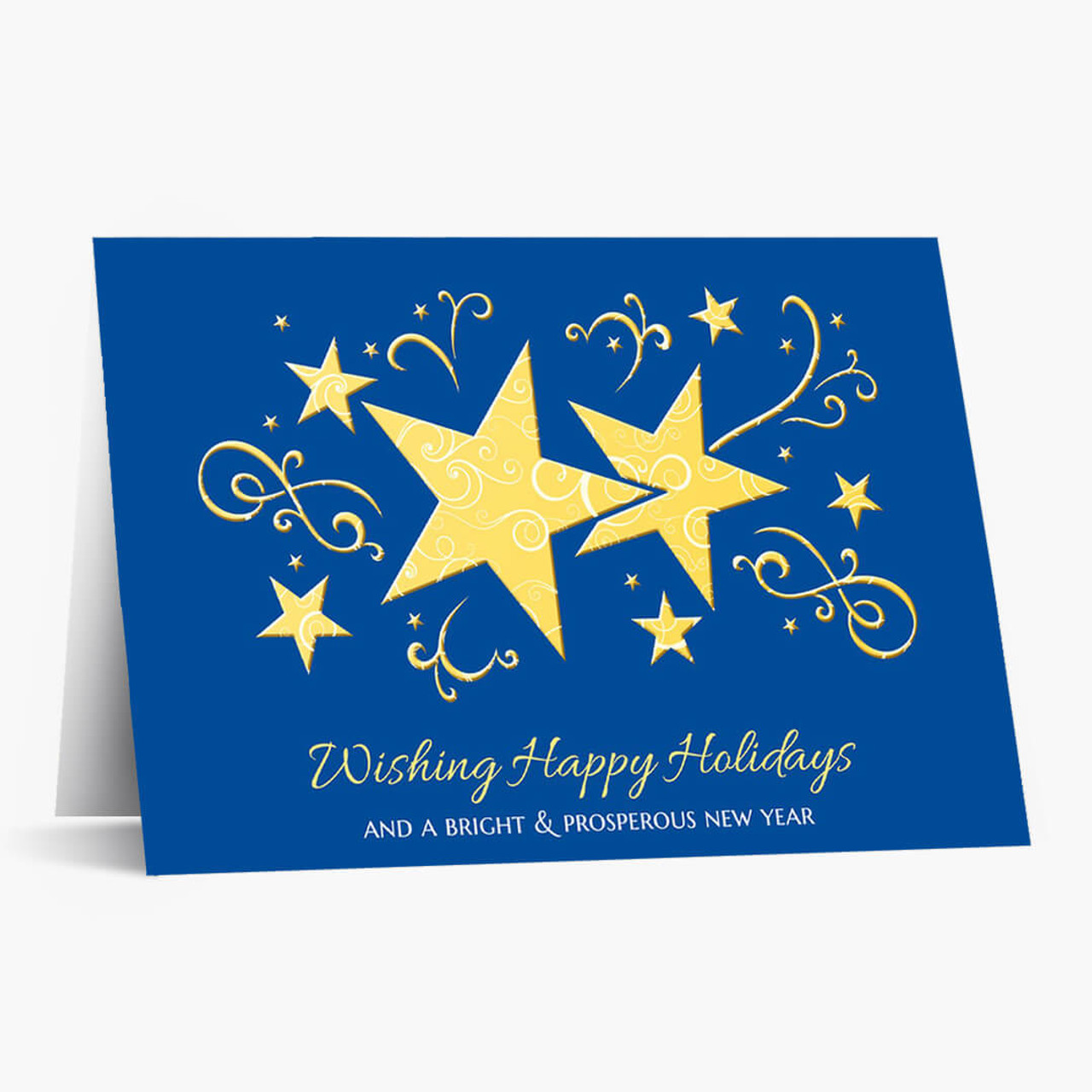 Bright and Prosperous Christmas Card