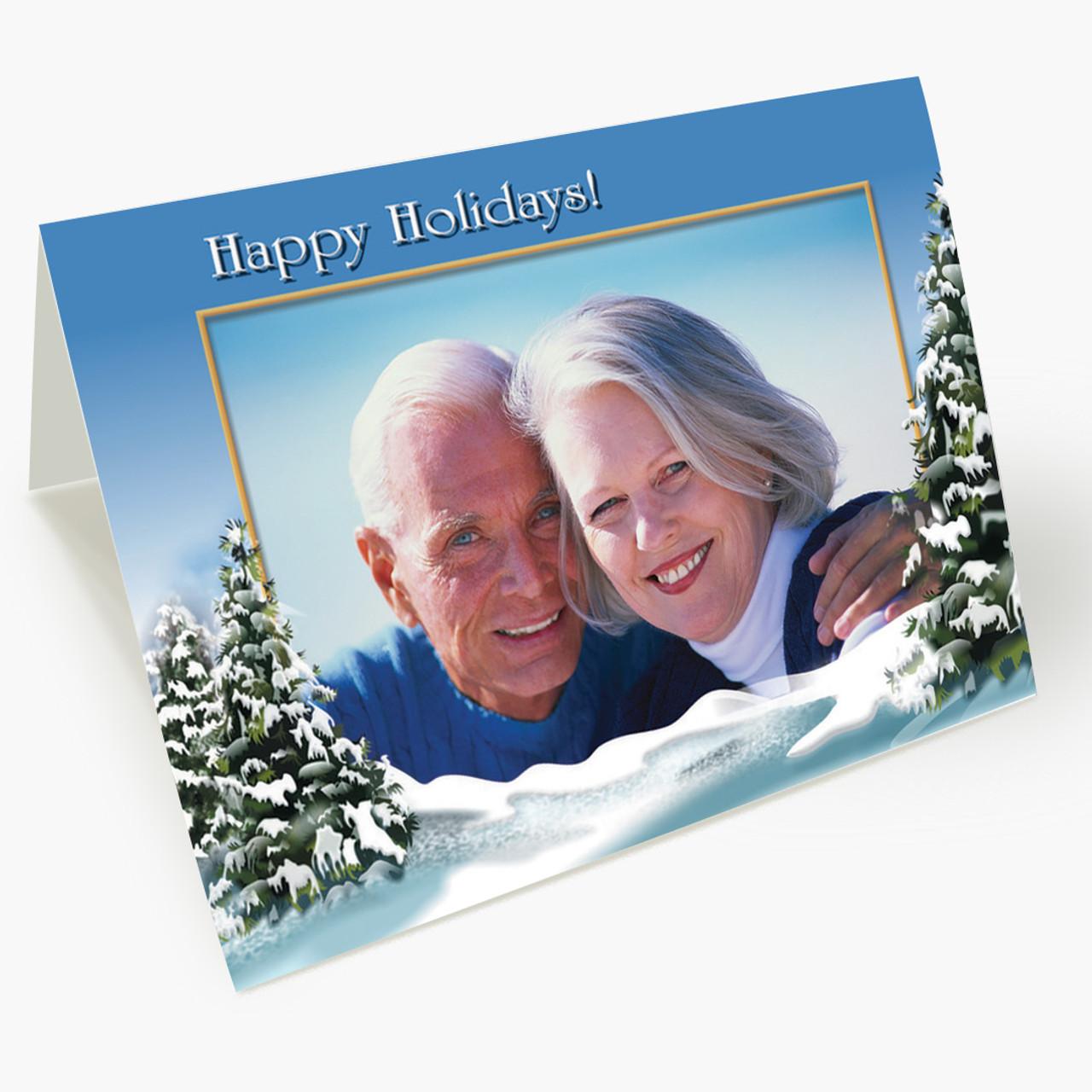 Winter Wonderland - Matte Finish Christmas Card