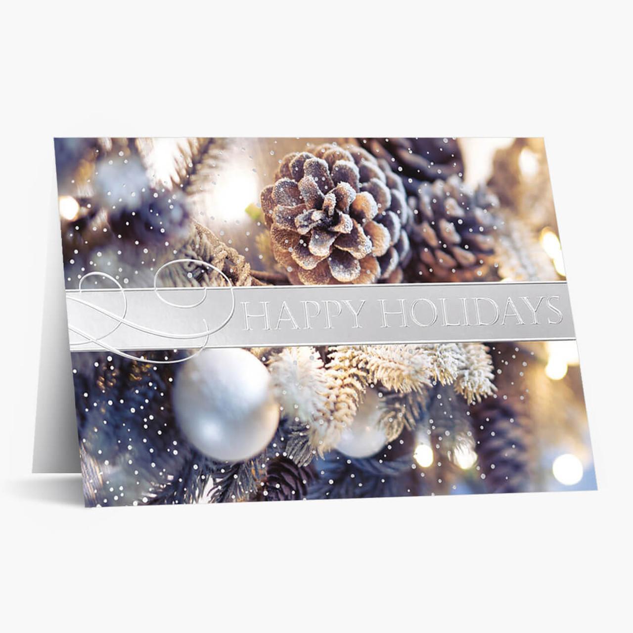 Elegant Image Christmas Card