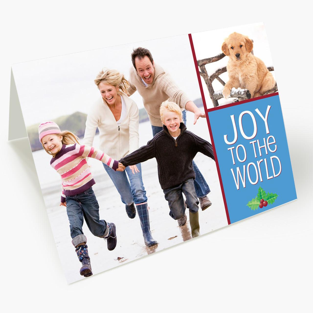 Photo Joy - Matte Finish Christmas Card