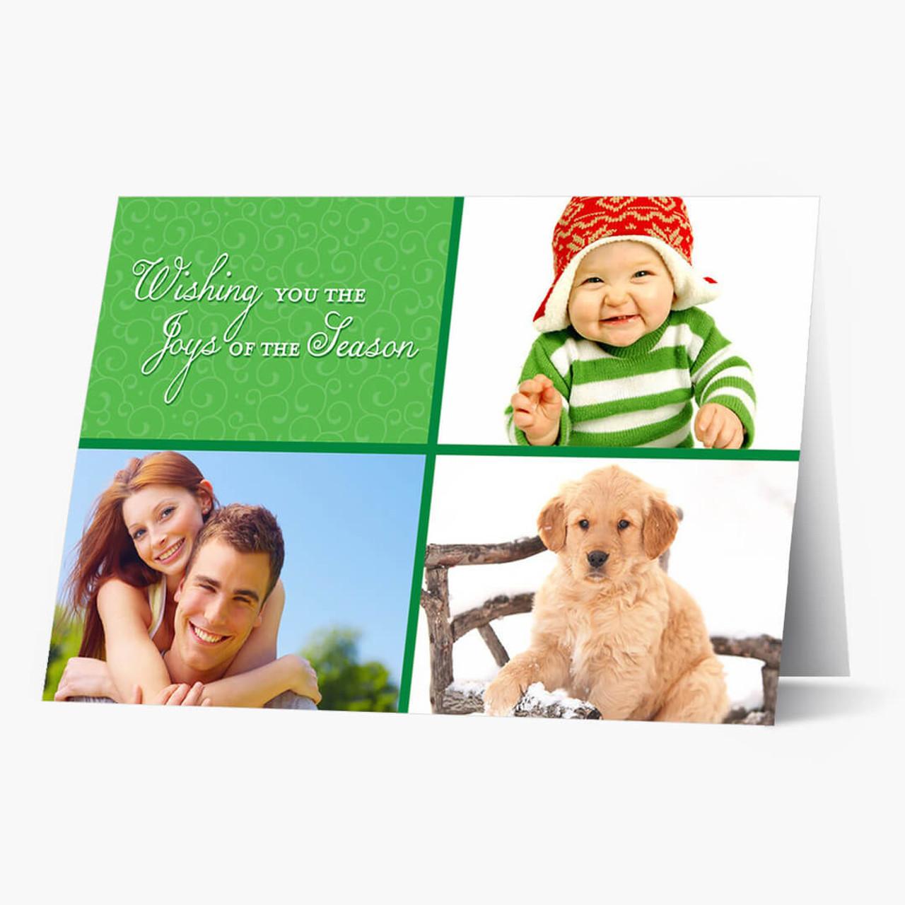 Season of Joy Photo - Matte Finish Christmas Card