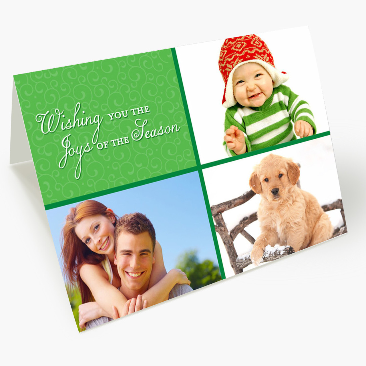 Season of Joy Photo - Matte Finish Christmas Card