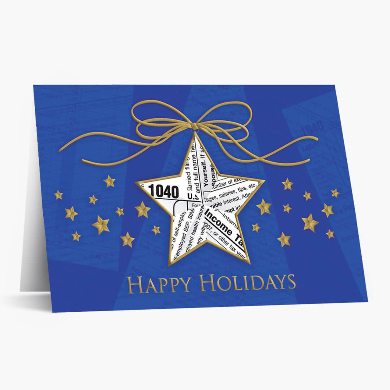 Accounting Star Christmas Card