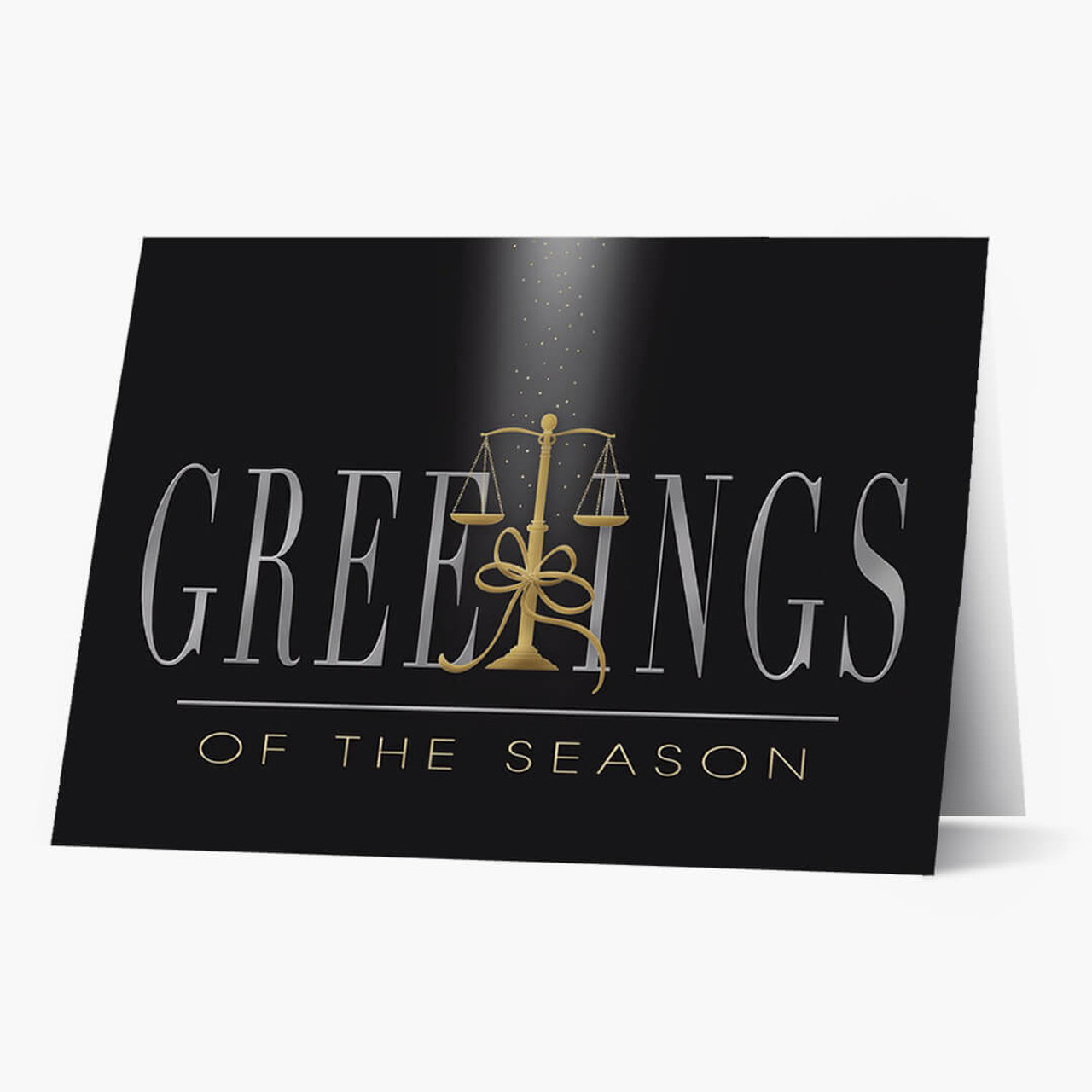 Judicial Greetings Christmas Card