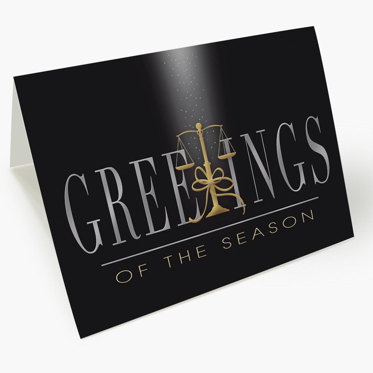 Judicial Greetings Christmas Card