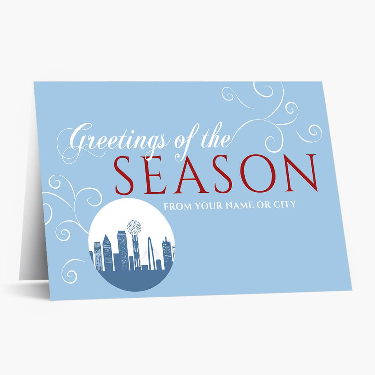 A Dallas Greeting Christmas Card