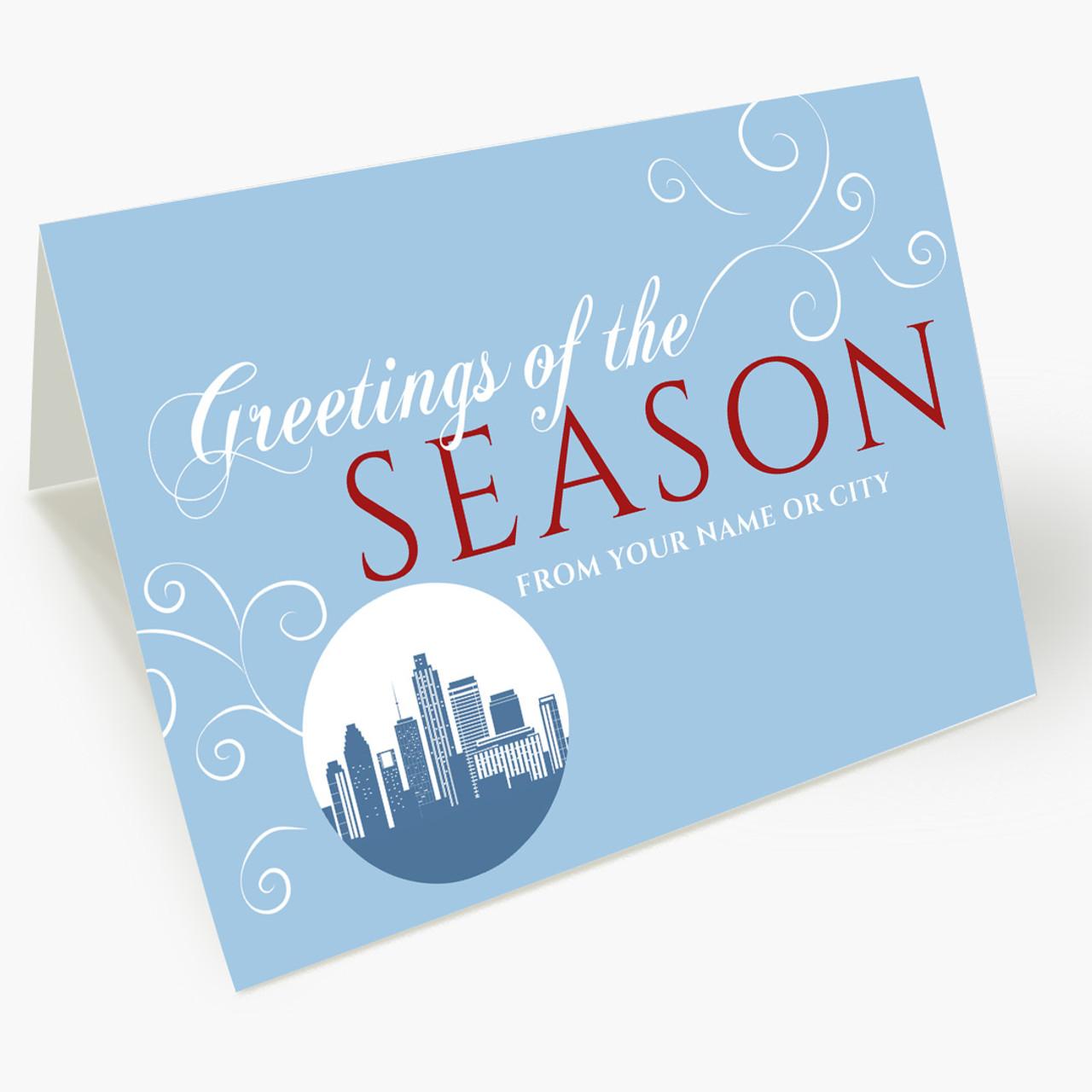 A Houston Greeting Christmas Card