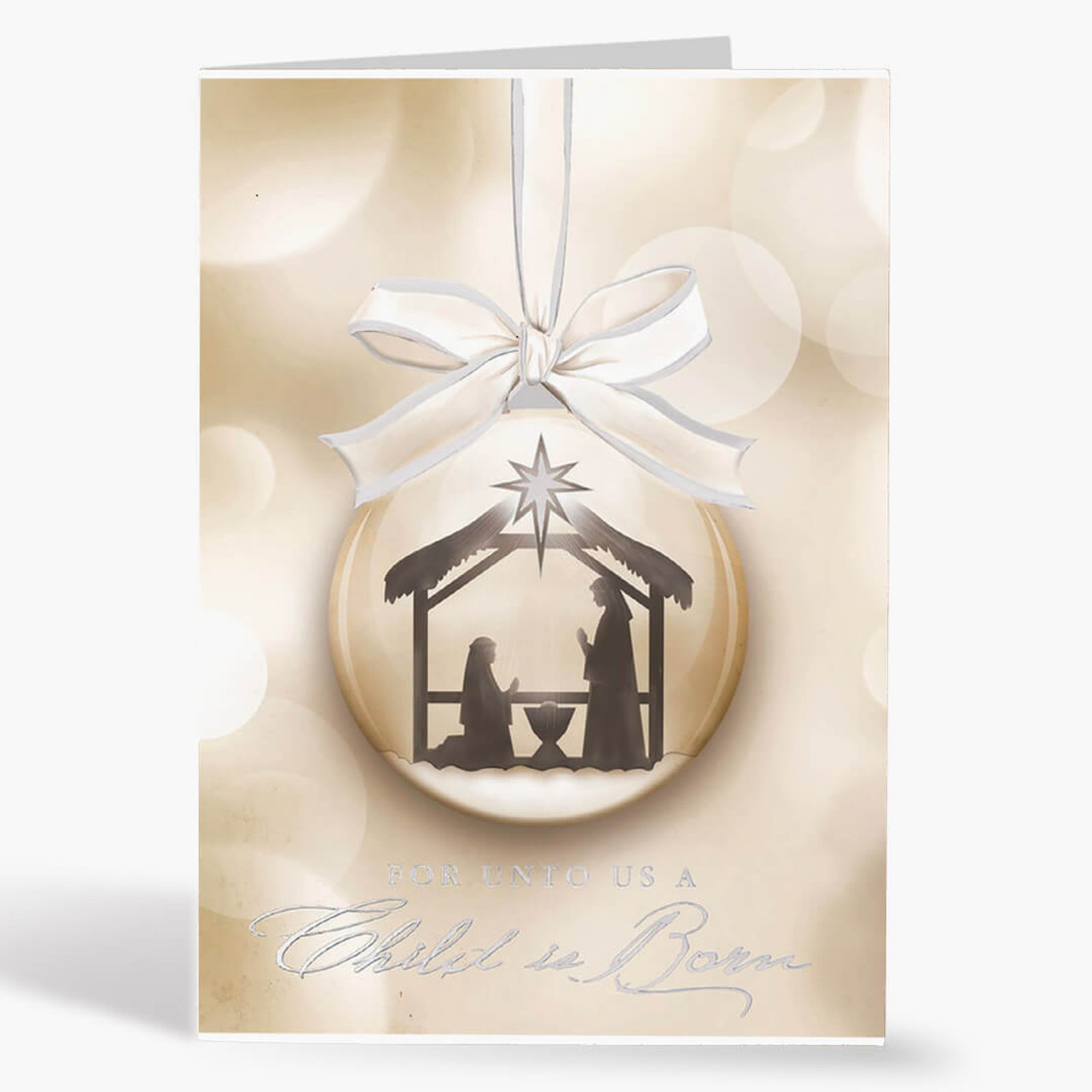 Prince Of Peace Christmas Card