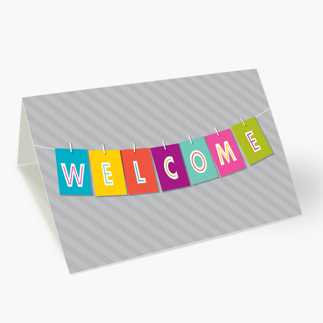Welcome Banner Card