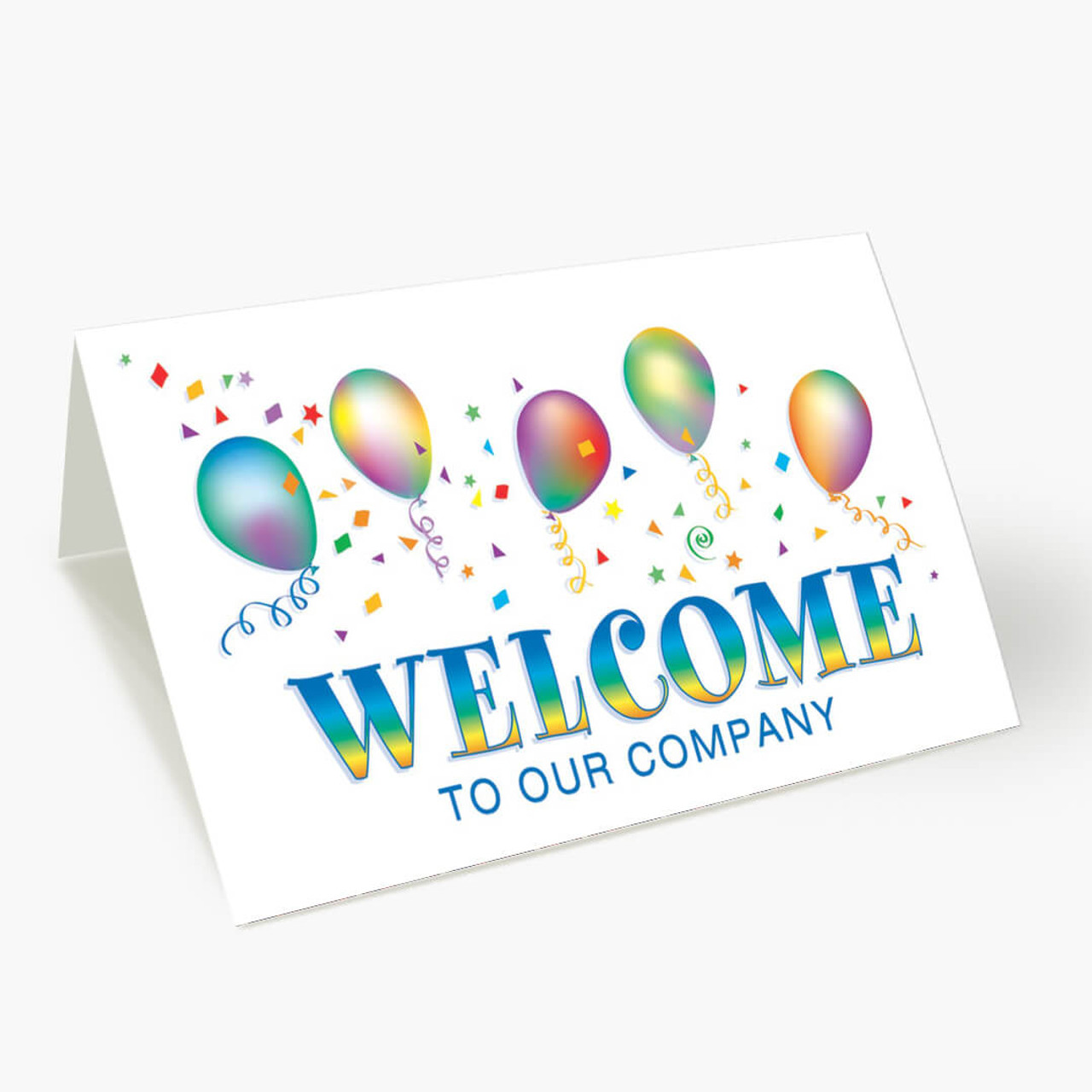 Gracious Welcome Card