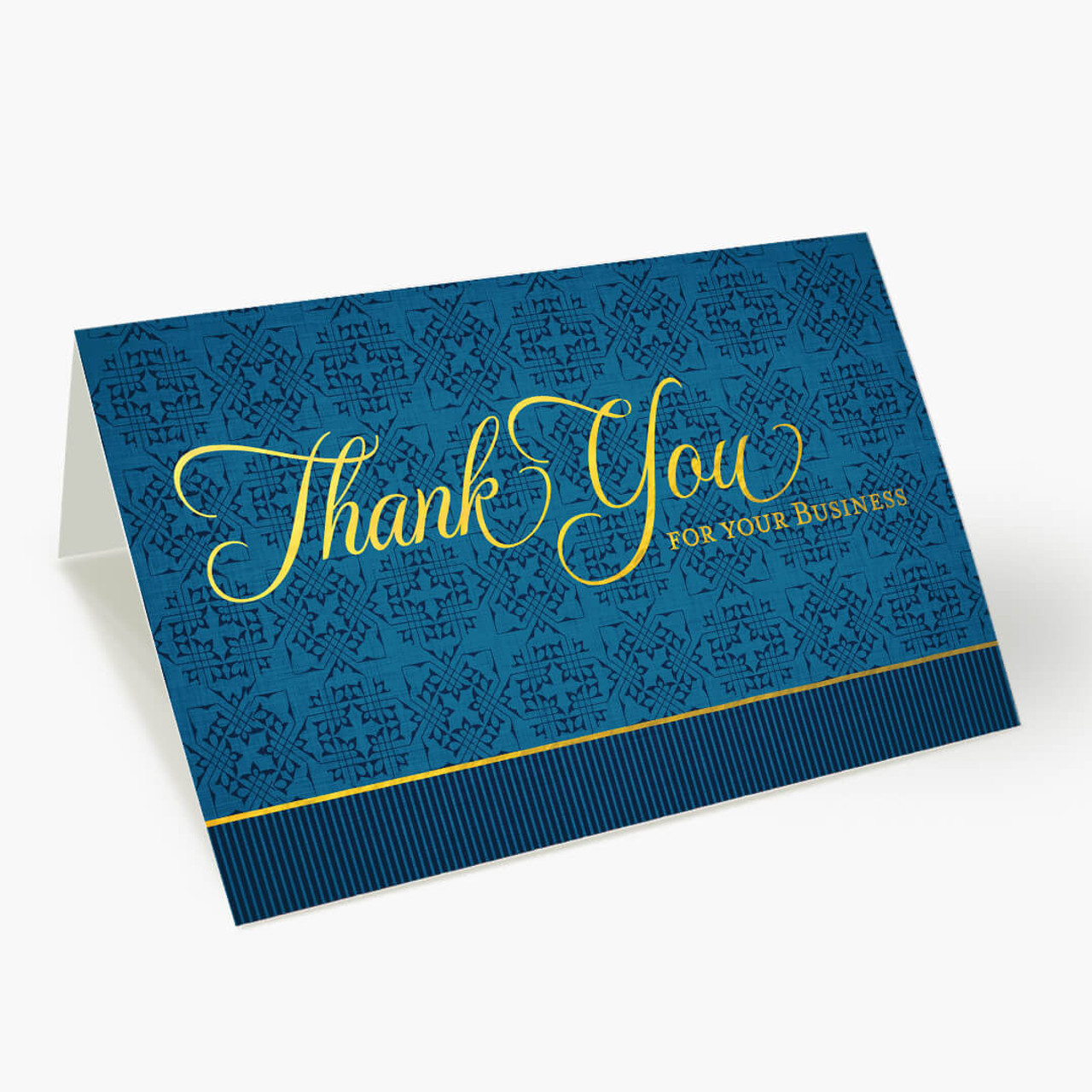 Regal Thank You - Business Card