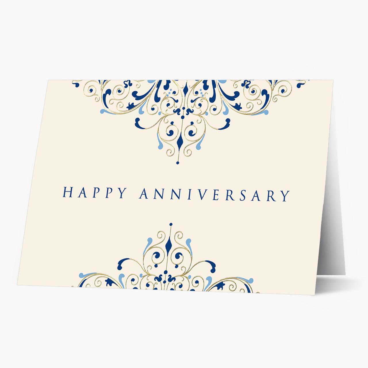 Anniversary Flourish Card