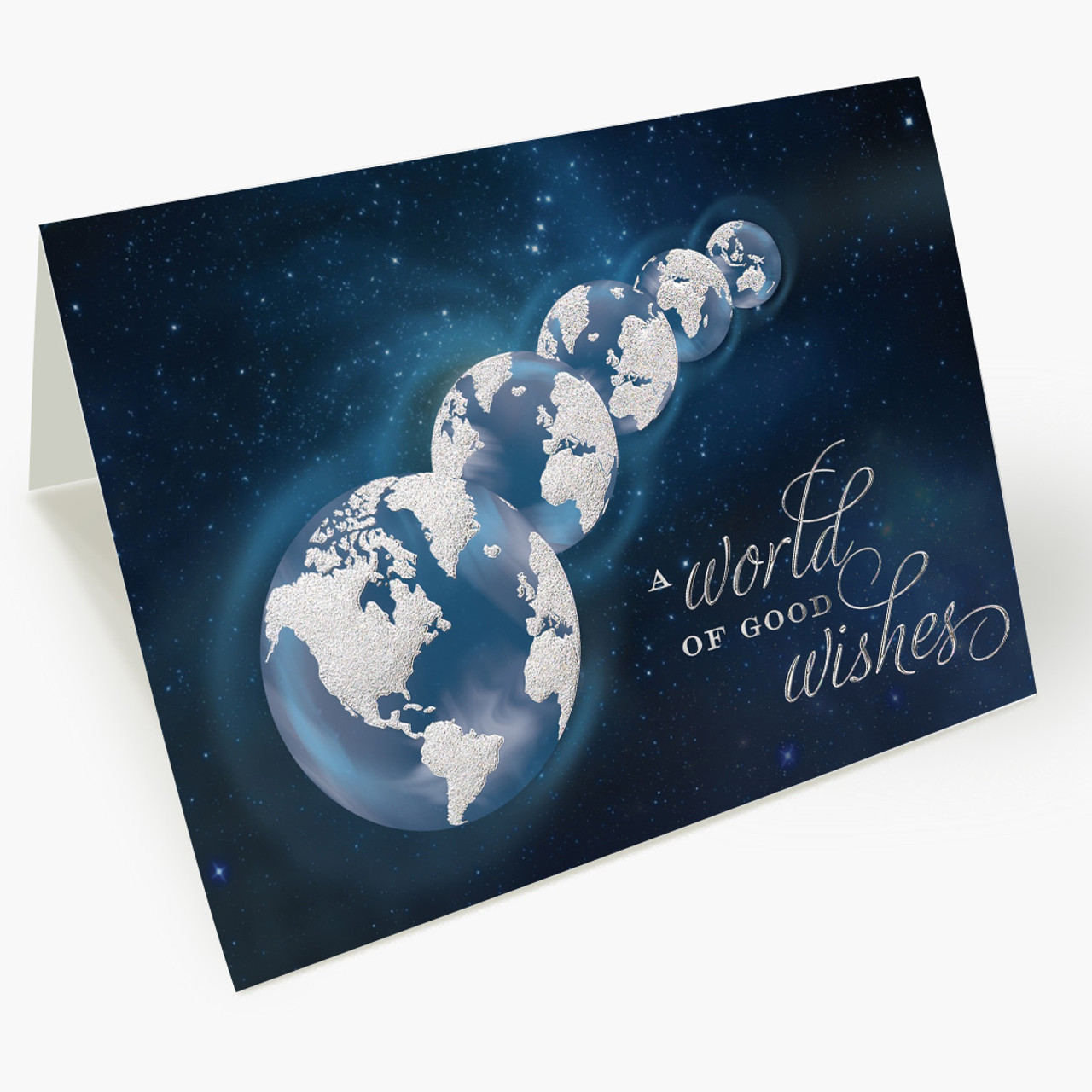 A Worldly Wish Christmas Card