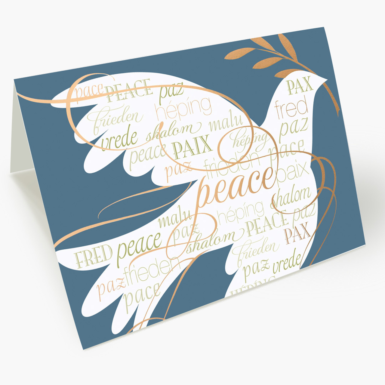 Made Of Peace Christmas Card