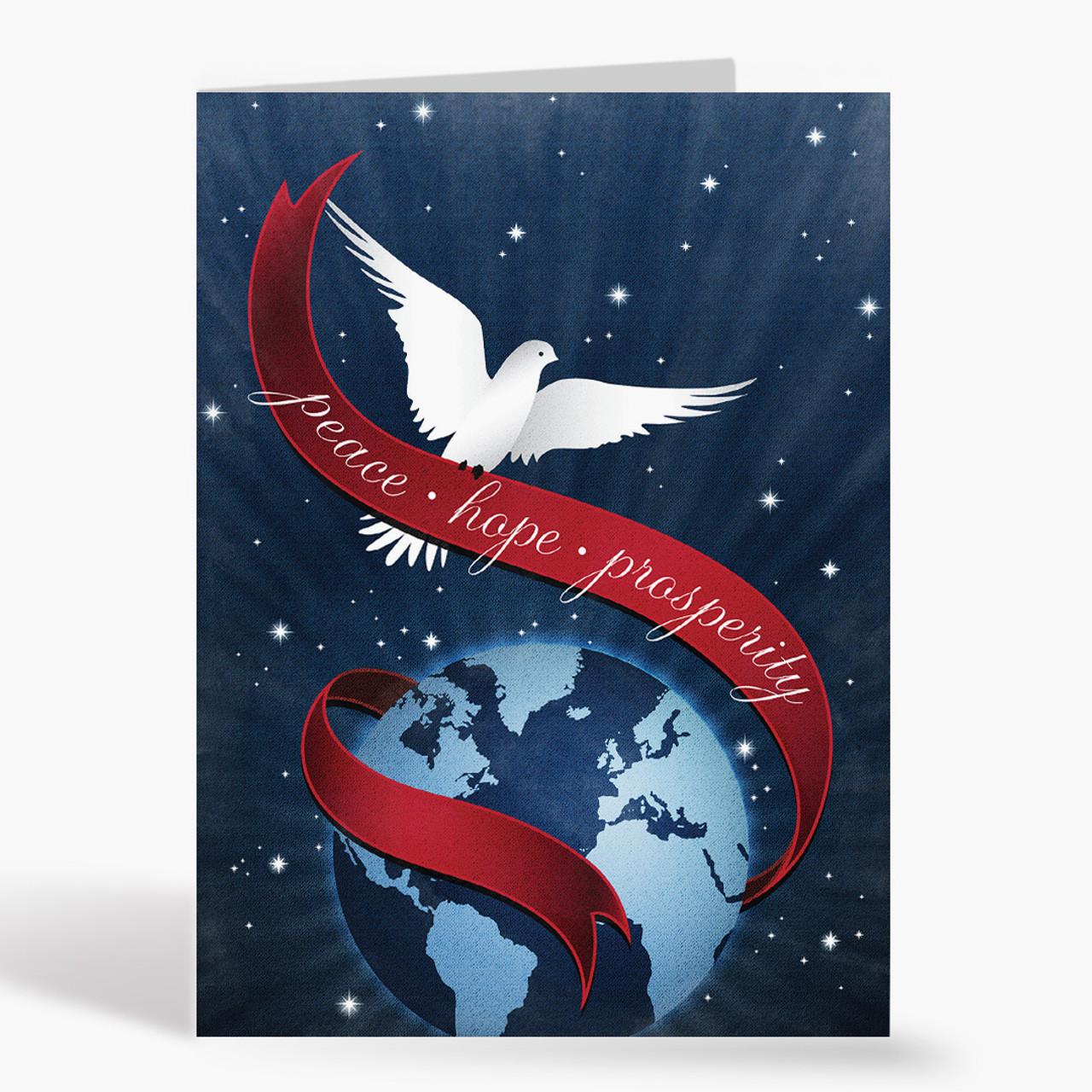 Tidings Of Peace Christmas Card