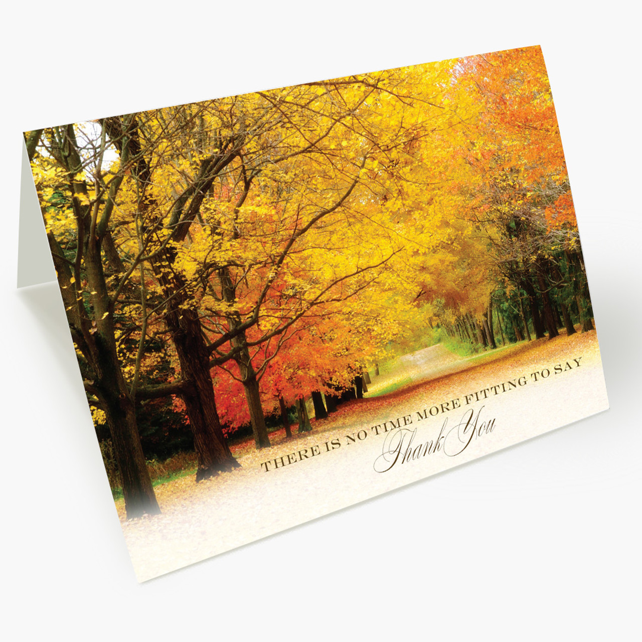 Autumn Spectacle Thanksgiving Card