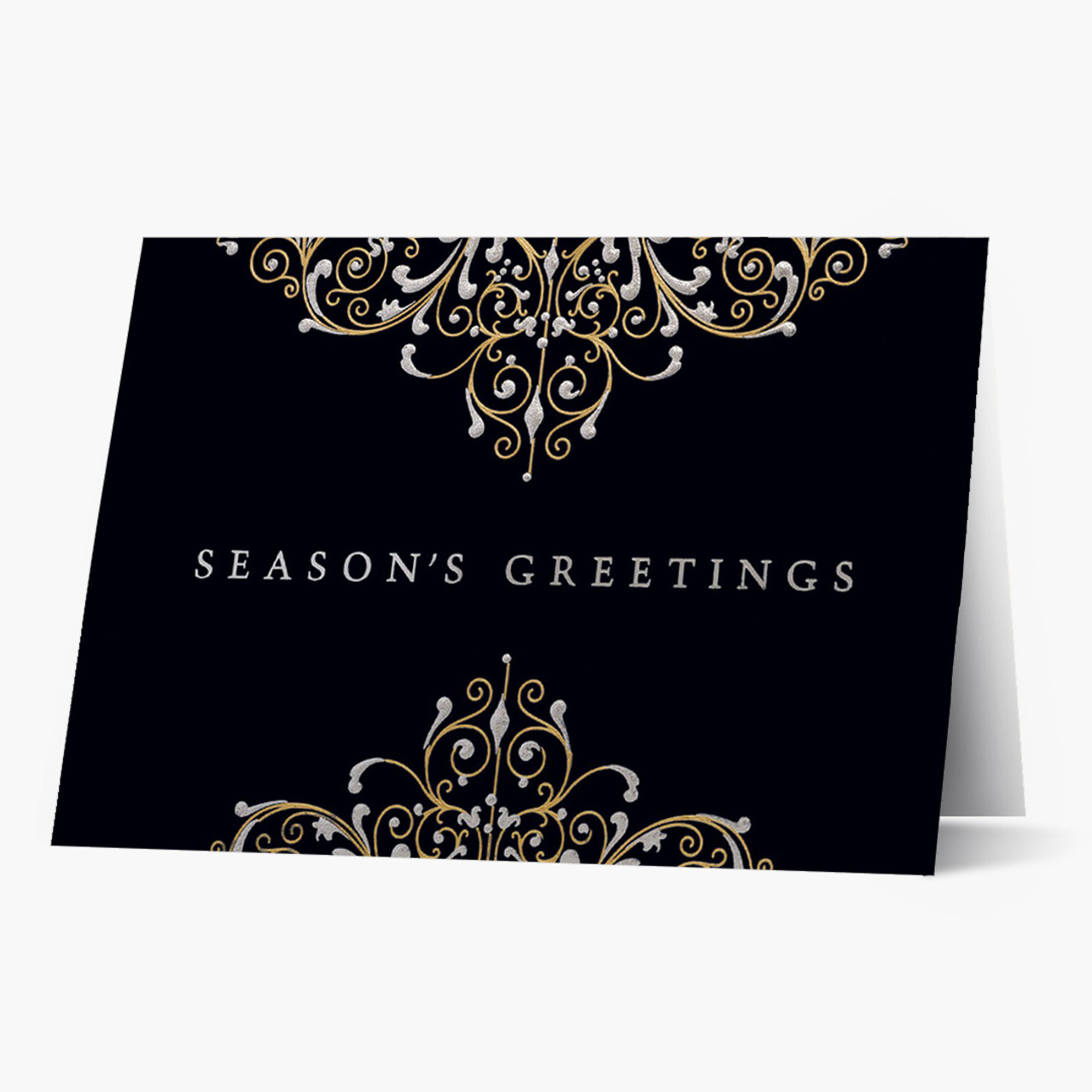 Ornate Radiance Christmas Card