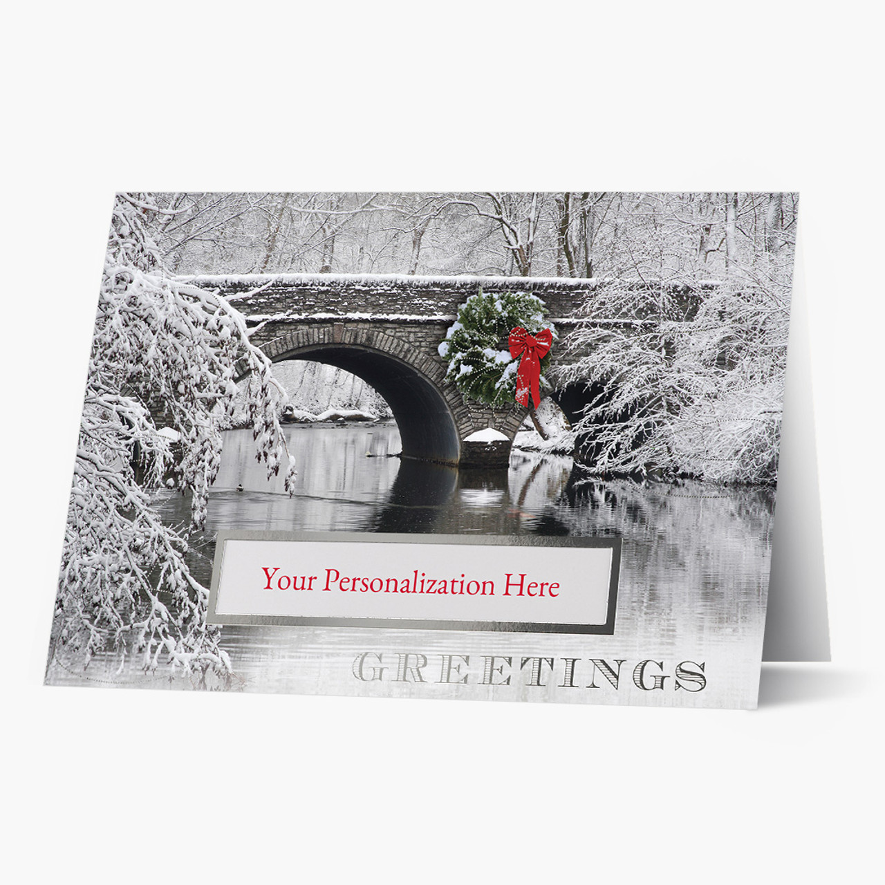 Scenic Pass Christmas Card