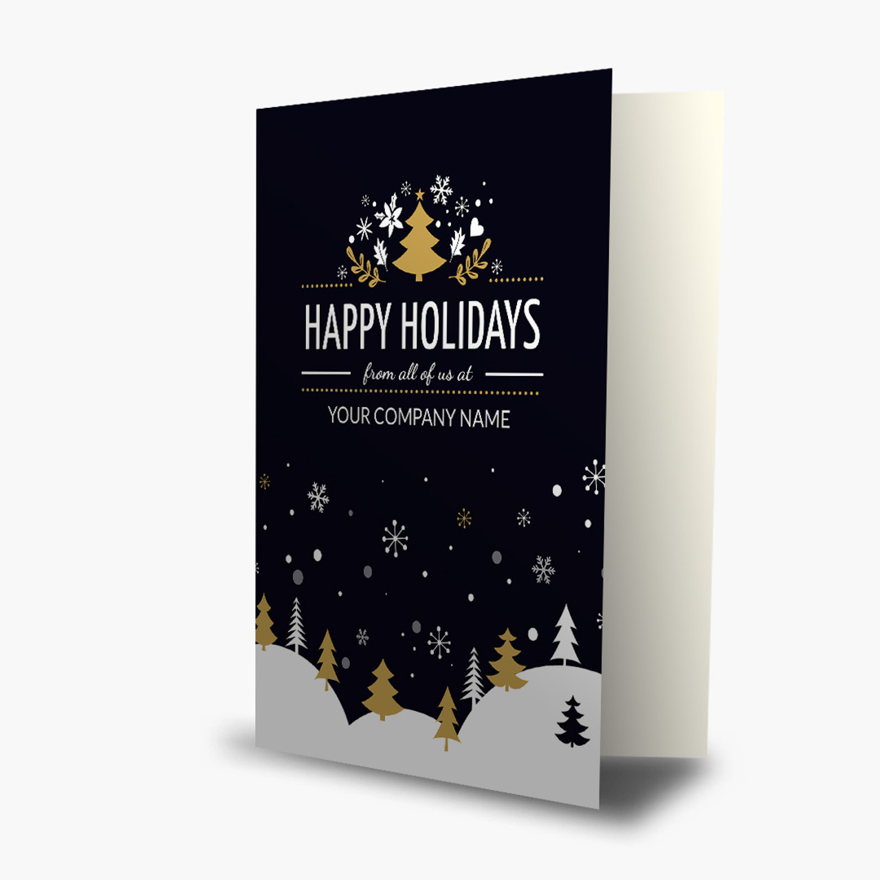 A Winter Greeting Christmas Card
