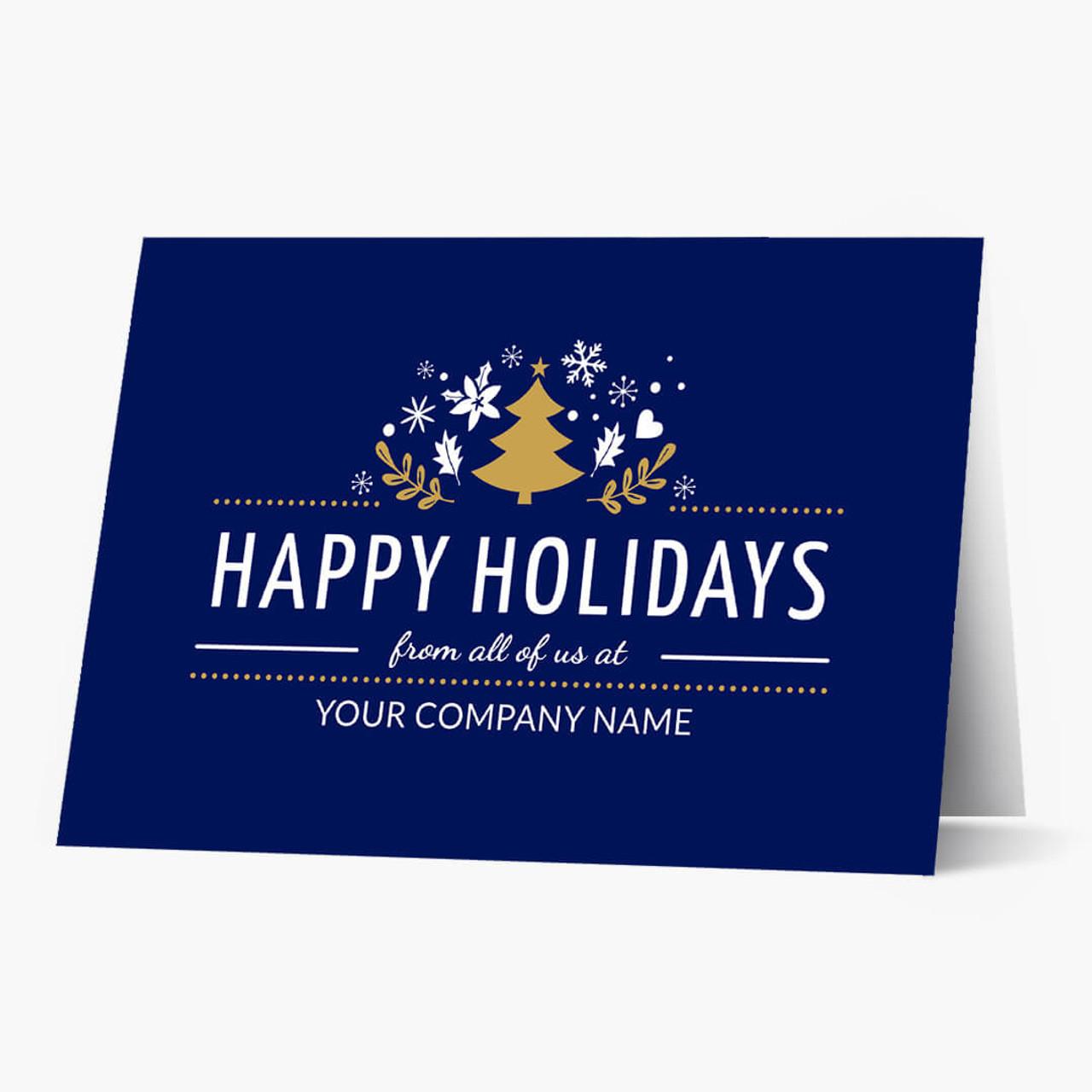 Group Happy Holidays Christmas Card