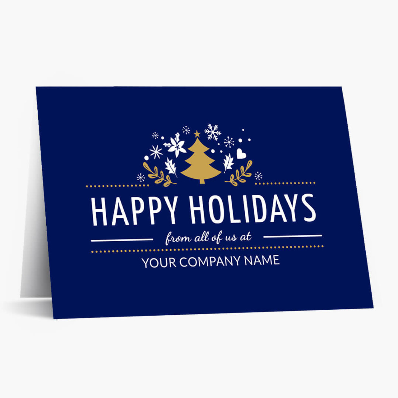 Group Happy Holidays Christmas Card