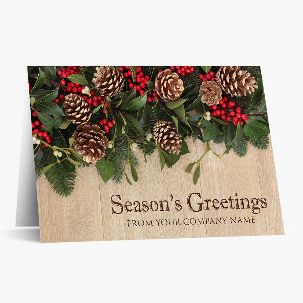 Personalized Decor Christmas Card