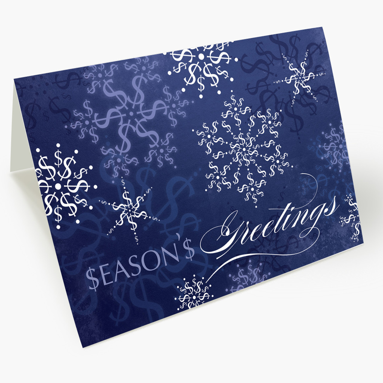 Wealth Of Snowflakes Christmas Card